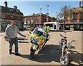 SJ9494 : Blood Bikes Manchester by Gerald England