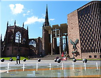SP3379 : Coventry Cathedral by Mat Fascione