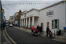 SW8132 : The Stable restaurant on Arwenack Street, Falmouth by Ian S