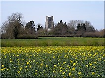 TG0400 : St Andrew's church Deopham by Bikeboy