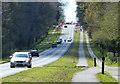 SP3175 : A429 Kenilworth Road towards Kenilworth by Mat Fascione
