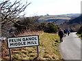 SM8026 : Felin Ganol / Middle Mill by Alan Richards