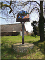 TG3704 : Cantley village sign by Adrian S Pye