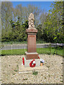 TG4106 : Halvergate and Tunstall War memorial by Adrian S Pye