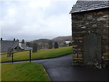 SD3598 : St Michael and All Angels, Hawkshead: churchyard (6) by Basher Eyre