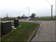TM0659 : Telecommunications Boxes on Devon Road by Adrian Cable