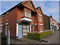 SP3583 : Former Hanson's butchers in Longford, Coventry by Jaggery