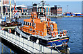 "J3474 : Lifeboat ""Henry Heys Duckworth"", Belfast (April 2015) by Albert Bridge"