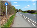 SP3074 : Path and cycleway along Kenilworth Road by Mat Fascione