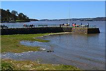 SD4578 : Arnside pier by David Martin