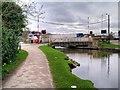 SE0941 : Leeds and Liverpool Canal, Morton Swingbridge by David Dixon