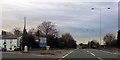 SJ6973 : Road junction at Lostock Green by John Firth