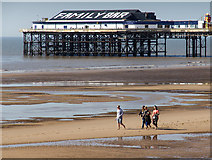 SD3035 : Central Pier, Blackpool by David P Howard