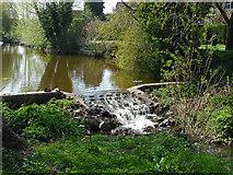 TQ1649 : Sluice on the Pipp Brook by Alan Hunt