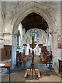 SP7702 : Bledlow - Holy Trinity - Chancel Arch and Chancel by Rob Farrow