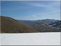NN3643 : Looking Down Glen Cailliche by Alan Hodgson