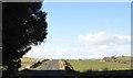 NS3563 : B786 at Midhouse Farm by John Firth