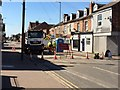 SK5336 : Queens Road is closed by David Lally