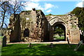 SP2872 : Ruined gate house of St Mary's Abbey by Mat Fascione