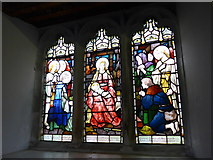 SD3598 : St Michael and All Angels, Hawkshead: stained glass window (I) by Basher Eyre