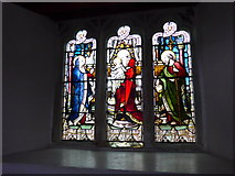 SD3598 : St Michael and All Angels, Hawkshead: stained glass window (III) by Basher Eyre