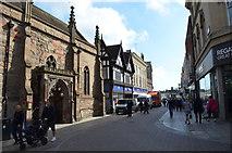 SO5040 : High Street, Hereford by Julian P Guffogg