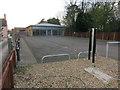 TL4251 : Former car dealership, Harston by Hugh Venables