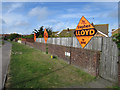 TQ6301 : Liberal Democrats banners, Langney Rise by Oast House Archive
