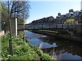 NT2475 : Footbridge crossing the Water of Leith by Graham Robson