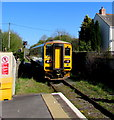 SN6115 : Northbound train leaves Llandybie station by Jaggery