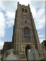 TM1473 : St.Peter & St.Paul Church Tower by Geographer