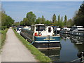TQ1783 : Aquilion - coastal motor barge on Paddington Arm canal by David Hawgood