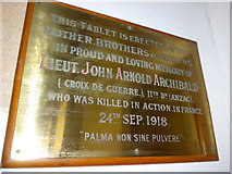 SD3389 : St Paul, Rusland: memorial (vi) by Basher Eyre
