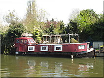 TQ1783 : Ruby Tuesday - narrowboat on Paddington Arm, Grand Union Canal by David Hawgood