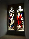 SD3389 : St Paul, Rusland: stained glass window (2) by Basher Eyre