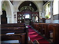 SO9645 : St Mary's Church Wick, Interior by Jeff Gogarty