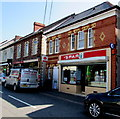 SN6115 : Spar and post office, High Street, Llandybie by Jaggery
