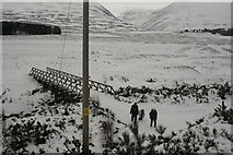 NN8596 : Bridge over River Feshie by Peter Bond