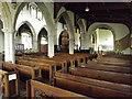 TM2373 : Inside of All Saints Church, Stradbroke by Adrian Cable
