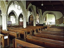 TM2373 : Inside of All Saints Church, Stradbroke by Adrian Cable