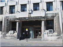 NZ2564 : Carliol House, Market Street (East), NE1 - entrance by Mike Quinn