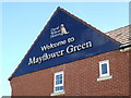 TM3763 : Welcome to Mayflower Green by Adrian Cable
