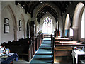 TF8332 : St Mary's church in Syderstone - view east by Evelyn Simak