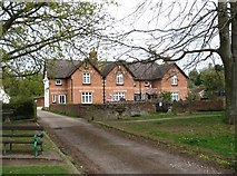 SY0885 : Houses in Otterton village by David Purchase