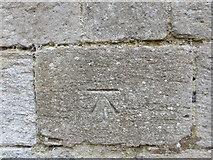 TL4568 : Ordnance Survey Cut Mark by Peter Wood