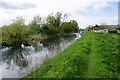 TL6475 : The River Lark near Isleham by Bill Boaden