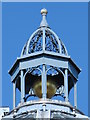 NZ2464 : Cupola on the dome on Monument Mall, Blackett Street, NE1 by Mike Quinn