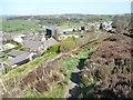 SE0634 : Footpath to Edge Bottom, Denholme by Christine Johnstone