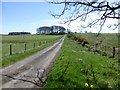NZ0783 : Public byway through pasture by Russel Wills