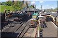 SO7192 : Bridgnorth Locomotive Works by Stephen McKay